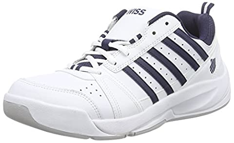 K-Swiss Performance KS TFW VENDY II CARPET WHT/NVY - M, Herren Tennisschuhe, Weiß (White/Navy), 41 EU (7 Herren