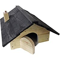Blackdown Wood Crafts HEAVY DUTY QUALITY Hedgehog House with nesting compartment