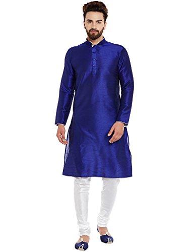Larwa Men's Silk Kurta Pyjama Set