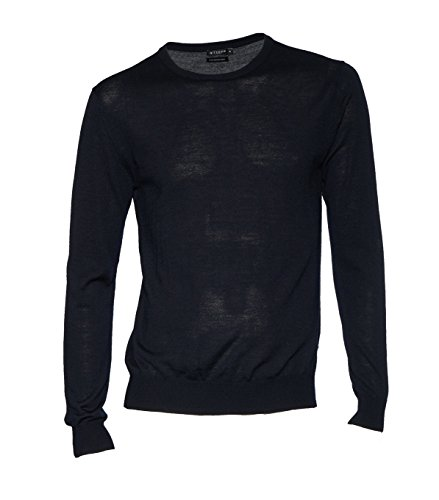 Tiger of Sweden Herren Pullover Matias Aus Wolle in Dunkelblau 284 navy