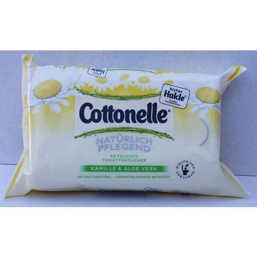 Preisvergleich Produktbild HAKLE feuchtes Toilettenpapier mit Aloe Vera & Kamille /45231 weiß Inh.42 Tücher