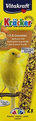 Vitakraft Kanarien Kräcker Ei, 10er Pack (10 x 100 g)