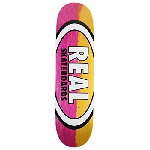 7db902aaac990 Real Skateboard Deck Parallel Fade Oval - 8.5 inch Giallo-Rosa (Default,  Rosa)