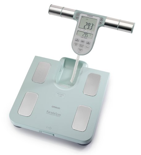 The Omron HBF-511 is the most comprehensive Body Composition Monitor with the special feature to measure the fat percentage on individuals from six years old. The fat percentage is determined based on the bioelectrical impedance which sends a weak cu...