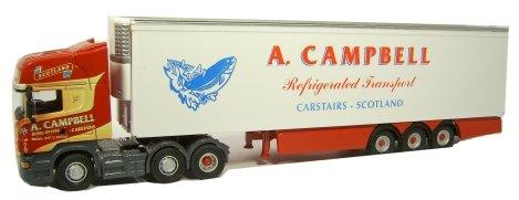 Preisvergleich Produktbild Oxford DIE CAST - SCA02FR - Scania R Oberschale Kühlschrank - A Campbell