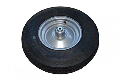 Komplett-Rad bis 100 km/h Reifen 4.80/4.00-8 / Felge 2.5-8