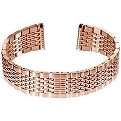 Slow-Rose Gold Metal Bracelet-20mm Width