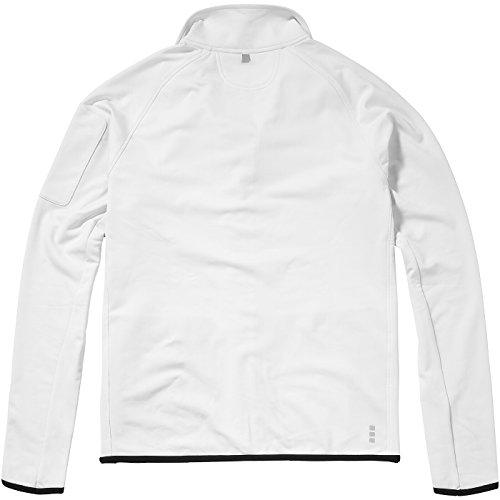 ELEVATE Mani Power Fleecejacke Weiß - Weiß