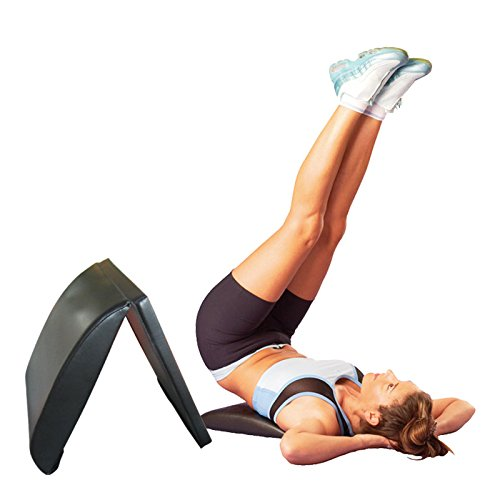 grofitness Core ab Mat Hometrainer, Bauch-Pad Workout Sit-Up Matte Back Support Steißbein Schutz
