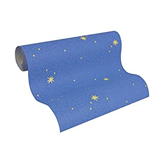 A.S. Creation 9117-11 Glow in The Dark Star Wallpaper, Roll Size: 10.05m x 0.53m
