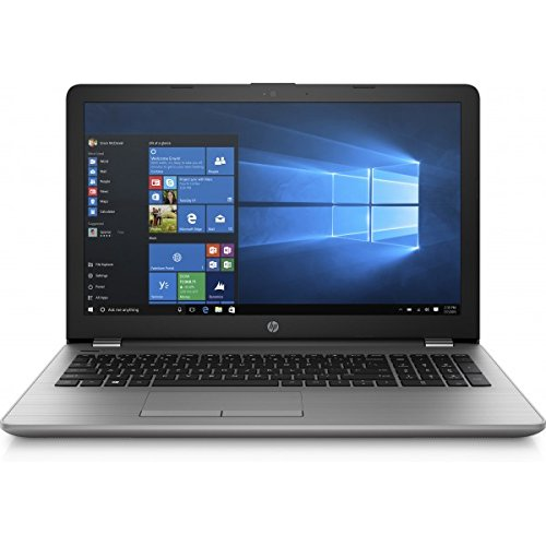 HP 250 G6 - Core i5 7200U / 2.5 GHz - Win 10 Home 64 bit - 8 GB RAM - 256 GB SSD HP Value - grabadora de DVD - 15.6 1366 x 768 (HD) - HD Graphics 620 - plata ceniza oscuro, textura tejida