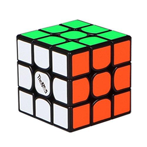 MZStech Nuovo cubo Magico 3x3x3 del cubo Magico di Valk 3 Nero