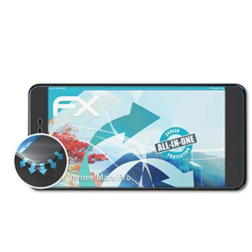 atFolix Schutzfolie passend für Vernee Mars Pro Folie, ultraklare & Flexible FX Bildschirmschutzfolie (3X)