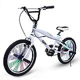 Riscko Bicicleta BMX 360º BEP-31 (Blanco)