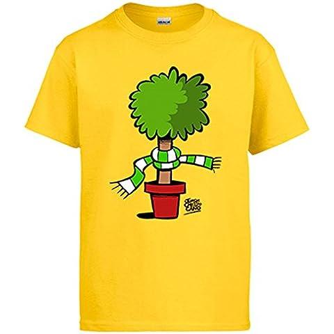 Camiseta Real Betis Bético verdiblanco natural