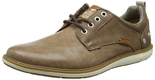 Mustang 4111-304-318, Sneakers Basses Homme, Marron (Taupe 318), 42 EU