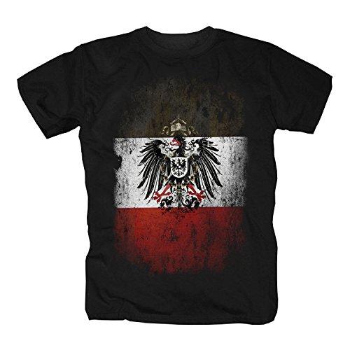 Reichsadler s-w-r T-Shirt (XXXL)