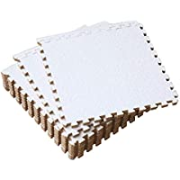 Essentials - Losas de goma entrelazadas de 30 X 30 cm (set de