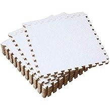 UMI. Essentials 1' x 1' Foam Interlocking Floor Tiles (Set of 9)