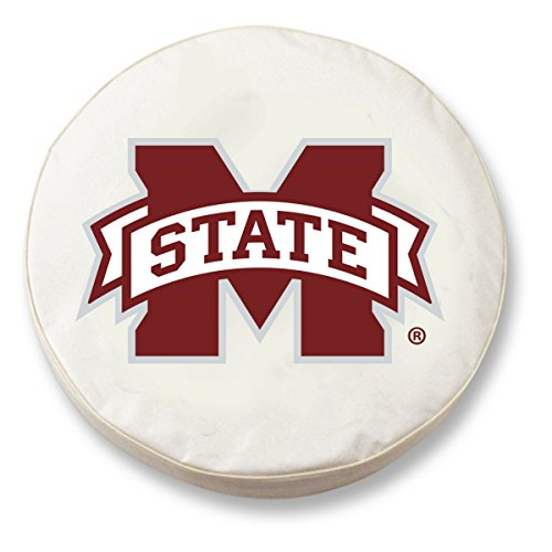 NCAA Mississippi State Bulldogs Tire Cover, Mississippi State Tire Cover, weiß Preisvergleich