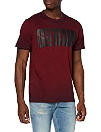 G-STAR RAW Double Dye Logo Camiseta para Hombre