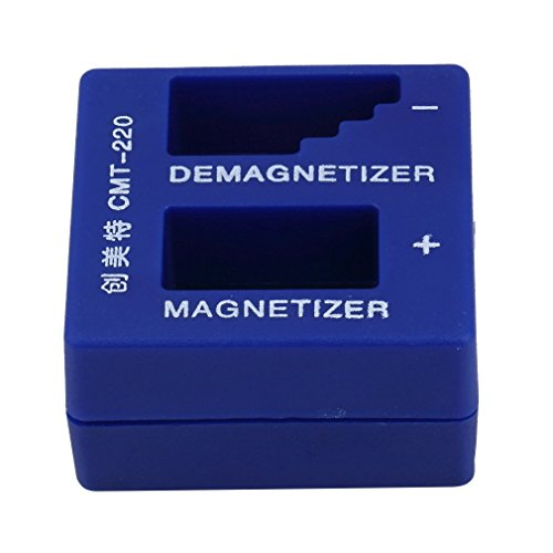 Sunsbell 2 in 1 Magnetiseur Entmagnetisierer tragbare Schraubendreher Magnetic Pick Up-Tool