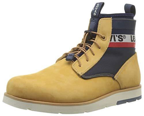Levi's Jax Lite Sportswear, Botas Chukka para Hombre, Amarillo Boots 73, 43 EU