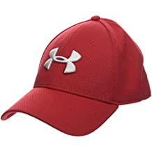 Under Armour Blitzing II Gorra, Hombre, Rojo (Red/White 610),