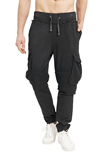 5cf8e930db77e Trueprodigy Casual Homme Sweat Pants uni, Vetements Swag Marque Vintage  (pontalon & Slim fit