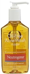 Neutrogena Lotion nettoyante Oil Free Acne Wash - Formule anti-acné sans huile efficace et douce - 175 ml