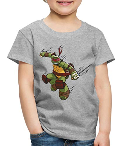tles Raphael Greift An Kinder Premium T-Shirt, 122/128 (6 Jahre), Grau meliert ()