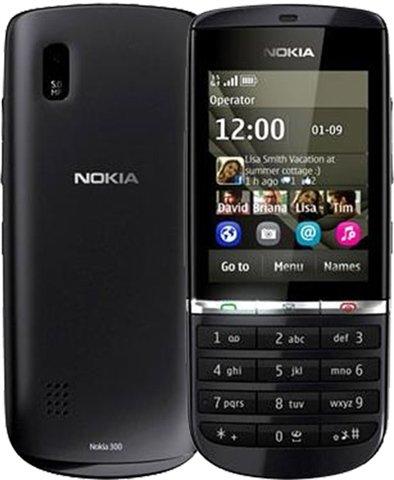 "Nokia Asha 300 - Teléfono móvil Movistar Libre (61 mm (2.4 ""), 320 x 240 Pixeles, LCD, microSD (TransFlash), 140 MB, 256 MB) Graphite"