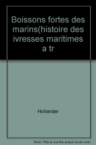 Boissons fortes des marins