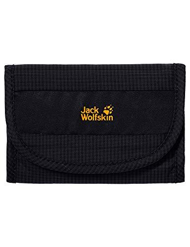 Jack Wolfskin Geldbeutel CASHBAG WALLET RFID black 14 x 10 x 2.5 cm, 0.08 Liter