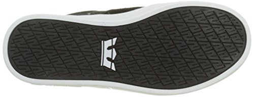 Supra Stacks Ii Unisex-Erwachsene Sneakers Schwarz (BLACK - WHITE BKW)