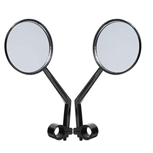 SODIAL 1 Par Espejo de Puerta de ala de Espalda de Bicicleta Espejo Retrovisor Reflector para Xiaomi Mijia M365 Scooter