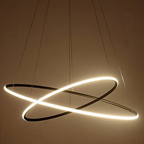 Saint Mossi® Exclusive Design Modern Circular Led Chandelier Adjustable Hanging