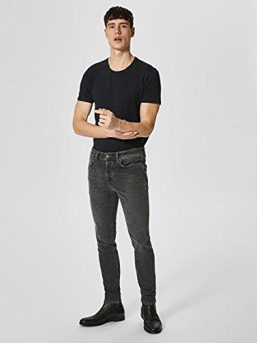 SELECTED HOMME Herren Skinny Jeans Grau (Grey)