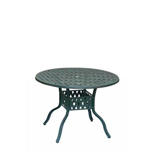 Inko Aluguss Tisch Nexus Grün rund 120 cm Gartentisch TAG 202-G