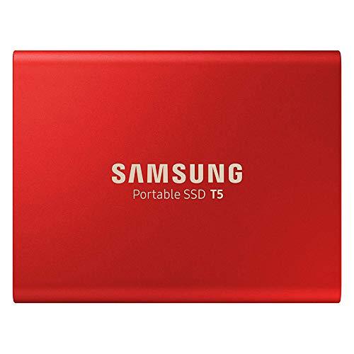 Samsung MU-PA500R/EU  Portable SSD T5 500 GB USB 3.1 Externe SSD Rot