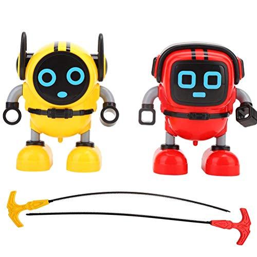 Daxoon Roboter Kreisel Mini Roboter Gyroskop Spinning Toys Geschenke für Junge Mädchen Kinder