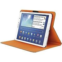 "Trust Aeroo Folio Stand - flaches Hülle für 7-8"" Tablets (z.B. iPad Mini, Galaxy Tab 4 7.0 & 8.0) grau/orange"