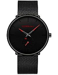 3f92a79ab3e9 Amazon.es  Rojo - Relojes de pulsera   Hombre  Relojes