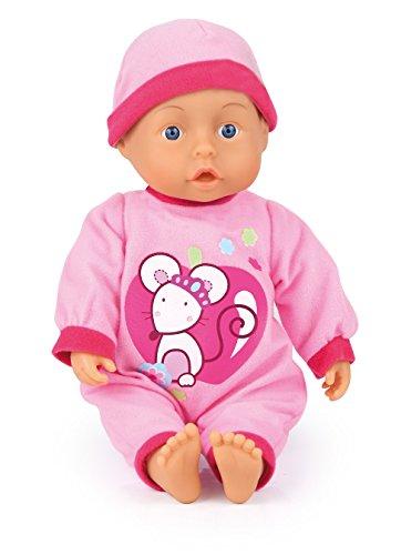 Bayer Design 93363AB - Funktionspuppe First Words Baby mit 24 lauten, 33 cm, rosa Preisvergleich