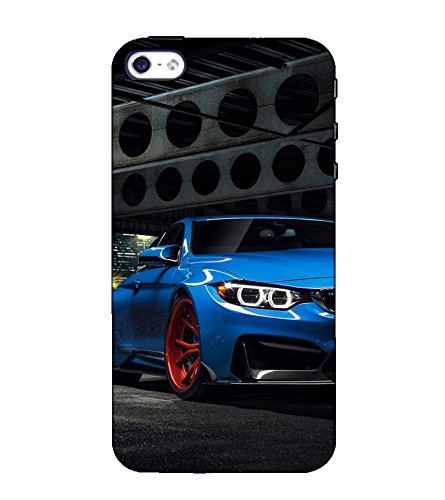 Fuson Designer Back Case Cover for Apple iPhone SE (A Car In the Garage)  available at amazon for Rs.397