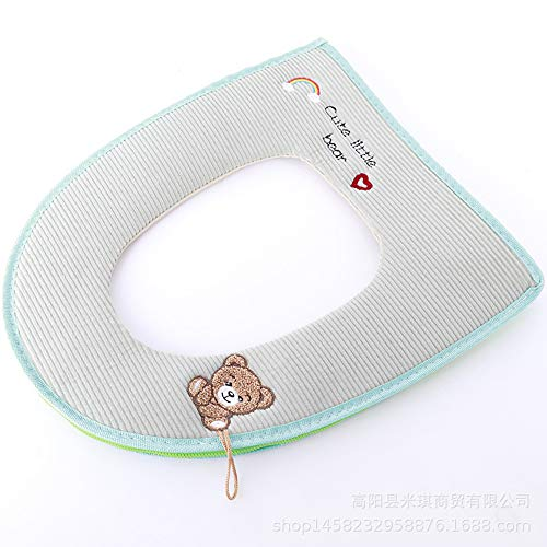 Comfot Warm Padded Toilettenseat Kissen Warm Toilettens… | 08882592159456