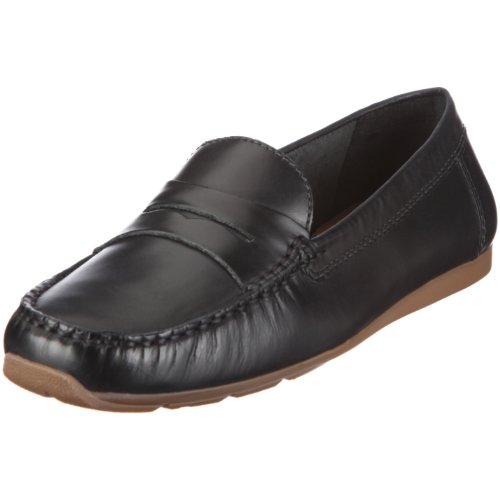 donna Nero Black Smooth Side 20343840 Mocassini Hill Clarks IZOqfq