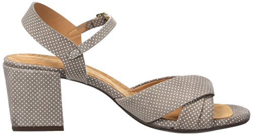Chie Mihara Leli, Sandales Bride Cheville Femme Beige (Punti Taupe)