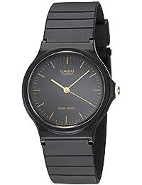1ea981c4c211c1 Casio Men's MQ24-1E Black Resin Quartz Watch with Black Dial