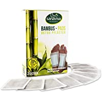 sanaviva® Detox Pflaster Fuß (20 Stk) Vitalpflaster zur Entgiftung - Detox Fußpflaster - Bambus Vital Pads mit... preisvergleich bei billige-tabletten.eu